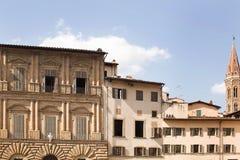 Piazza della Signoria. Historic buildings on the edges of the Piazza della Signoria, Florence, Italy Stock Images