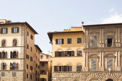 Piazza della Signoria. Historic buildings on the edges of the Piazza della Signoria, Florence, Italy Royalty Free Stock Photo