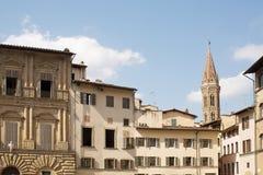 Piazza della Signoria. Historic buildings on the edges of the Piazza della Signoria, Florence, Italy Stock Photos