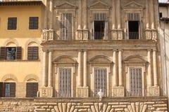 Piazza della Signoria. Historic buildings on the edges of the Piazza della Signoria, Florence, Italy Stock Image