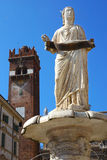 Piazza della Signoria in Verona, Italy, Europe Stock Images