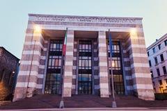 Piazza della Victoria architecture Stock Photography