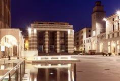 Piazza della Victoria in Brescia Stock Image