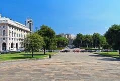 Piazza della Vittoria - Genova Royalty Free Stock Image