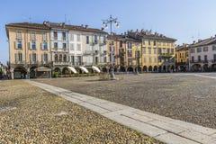 Piazza della Vittoria, Lodi, Italy Stock Photo