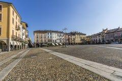 Piazza della Vittoria, Lodi, Italy Stock Photos