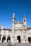 Piazza dell'Annunziata in Venaria Reale, Turin, Italy Stock Photography