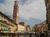 Piazza delle Erbe in Verona Royalty Free Stock Photos