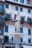 Piazza delle Erbe, Verona, Italy Stock Image