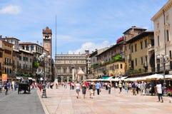 Piazza delle Erbe Stock Photos