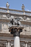 Piazza delle Erbe in Verona Royalty Free Stock Images