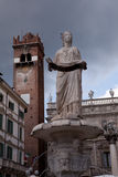 Piazza delle Erbe, Verona Royalty Free Stock Photo