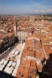 Piazza Delle Erbe, Verona Royalty Free Stock Images