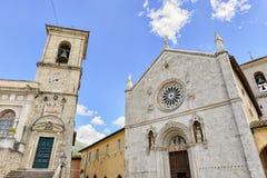 Piazza di圣Benedetto 图库摄影