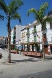 Piazza di Alora, Spagna Fotografia Stock Libera da Diritti