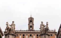Piazza di Campidoglio Fotografia Stock