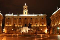 Piazza di Campidoglio Stock Images