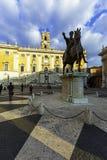 Piazza di Campidoglio, Rome Stock Image