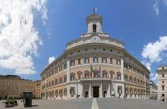 Piazza di Montecitorio Immagini Stock Libere da Diritti