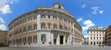 Piazza di Montecitorio Rome Stock Photo
