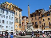 Piazza di Rotonda, Rome, Italy Royalty Free Stock Image