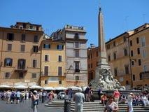 Piazza di Rotonda, Rome, Italy Royalty Free Stock Photography