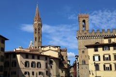 Piazza Di SAN Firenze plaza στη Φλωρεντία, Ιταλία Στοκ φωτογραφίες με δικαίωμα ελεύθερης χρήσης