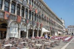 Piazza Di SAN Marco, Βενετία, Ιταλία Στοκ φωτογραφίες με δικαίωμα ελεύθερης χρήσης