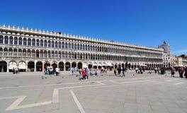 Piazza di San Marco, Venecia Imágenes de archivo libres de regalías