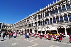 Piazza di San Marco, Venedig Stockbild