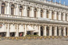 Piazza di San Marco, Venedig, Italien Arkivfoton