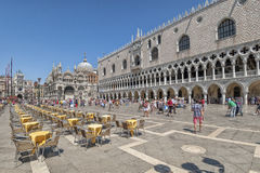 Piazza di San Marco- Venice, Italy Stock Images