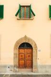 Piazza di Santo Spirito architecture details in Florence Stock Images