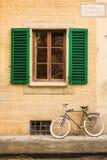Piazza di Santo Spirito architecture details in Florence Stock Photo