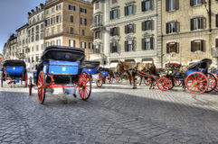 Piazza di Spagna罗马 免版税库存图片