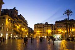 Piazza Di Spagna, Ρώμη, Ιταλία Στοκ φωτογραφίες με δικαίωμα ελεύθερης χρήσης