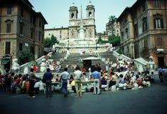 Piazza Di Spagna Stock Afbeelding