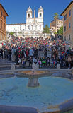 Piazza di Spagna Royalty Free Stock Photos