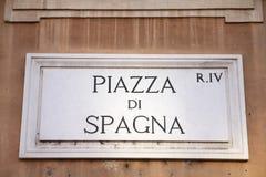 Piazza di Spagna Images libres de droits