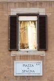 Piazza di Spagna Foto de archivo libre de regalías