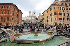 Piazza di spagna Obrazy Royalty Free