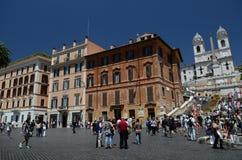 Piazza di Spagna en Roma Imágenes de archivo libres de regalías
