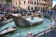 Piazza di Spagna - Roma Fotografia Stock