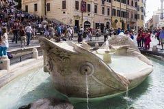 Piazza di Spagna Roma Immagine Stock