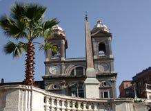 Piazza di Spagna - Roma, Italia fotografia stock
