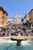 Piazza di Spagna, Rome Stock Photo