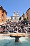 Piazza di Spagna, Rome Stock Photo
