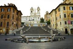 Piazza Di Spagna in Rome Royalty-vrije Stock Foto