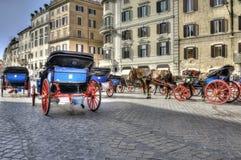 Piazza Di Spagna Rome Royalty-vrije Stock Afbeelding