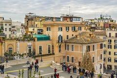 Piazza di Spagna, Rome, Italie Images stock